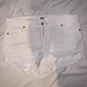 PAIGE white shorts